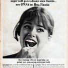 """1961 Ipana Tooth Paste Ad """"first major tooth paste advance"""""""