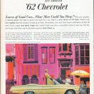 """1962 Chevrolet Ad """"You'll Find Your Choice"""""""