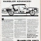 """1962 Rambler Ad """"Why shortchange yourself?"""""""