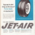 "1961 General Tire Ad ""Huge new tire plant"""