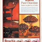"1961 Brach's Candy Ad ""Pure Chocolate"""