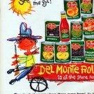 "1961 Del Monte Ad ""Round-Up"""
