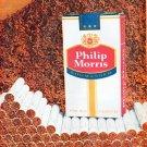 """1961 Philip Morris Cigarette Ad """"Tobacco tastes richer"""""""