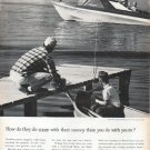 """1961 Foundation for Commercial Banks Ad """"How do they do more"""""""