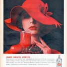 "1961 Gilbey's Vodka Ad ""Smart, Smooth, Spirited"""