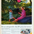 "1961 Kodak Ad ""unforgettable July 4th"""