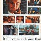 "1961 Hartford Insurance Ad ""your Hartford Agent"""