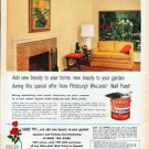 "1962 Pittsburgh Paints Ad ""Add new beauty"""