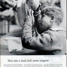 """1962 Foundation for Commercial Banks Ad """"never outgrow"""""""