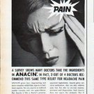 "1962 Anacin Ad ""Better than aspirin"""