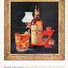 """1962 Seagram's Whiskey Ad """"Reward well-earned"""""""