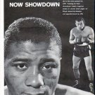 """1961 Floyd Patterson and Ingemar Johansson Article """"One K.O. Apiece"""""""