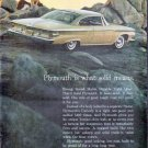 """1961 Plymouth Ad """"Plymouth is what solid means"""""""
