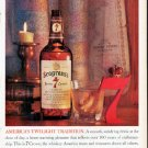 "1961 Seagram's Whiskey Ad ""Twilight Tradition"""