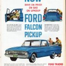 "1961 Ford Falcon Ad ""Ford Falcon Pickup"""