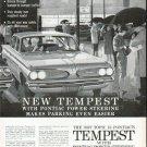 "1961 Pontiac Tempest Ad ""New Tempest"""