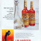 "1961 I.W. Harper Bourbon Ad ""Meet Both Sides"""