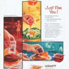 """1961 Kraft Ad """"Just For You"""""""