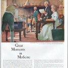 """1961 Parke-Davis Ad """"Lavoisier"""""""