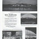 """1961 Union Electric Ad """"Exciting St. Louis"""""""