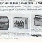 """1961 Magnavox Ad """"Wherever you go"""""""