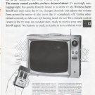 """1961 Admiral TV Ad """"Super Son-R 19"""""""