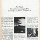 """1961 Texaco Ad """"Climate-Controls"""""""