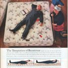 "1961 Simmons Beautyrest Ad ""The Temptation of Beautyrest"""