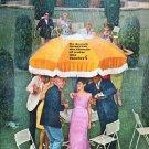 """1966 Teacher's Scotch Ad """"improves the flavour"""""""
