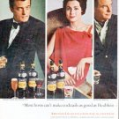 "1966 Heublein Cocktails Ad ""Most hosts can't make cocktails"""