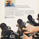 "1966 Western Electric Ad ""One reason"""