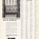 """1966 Chrysler Air Conditioner Ad """"Find the Airtemp"""""""