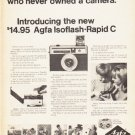 "1966 Agfa-Gevaert Ad ""people who never owned a camera"""