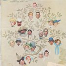"""1959 Saturday Evening Post Cover Page """"Family Tree"""" ... October 24, 1959"""