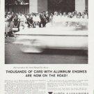 """1959 Alcoa Aluminum Ad """"Thousands of cars"""""""