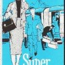 "1959 Santa Fe Railroad Ad ""nothing else like it"""