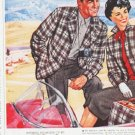 "1959 Pendleton Sportswear Ad ""a way of life"""