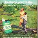 "1964 Salem Cigarettes Ad ""Salem softness"""