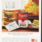 "1964 Campbell's Soup Ad ""How to talk turkey"""