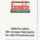 "1964 Excedrin Ad ""Tablet for tablet"""