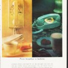"""1964 Bell Telephone System Ad """"From breakfast to bedtime"""""""