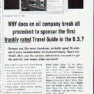 """1964 Mobil Travel Guide Ad """"break all precedent""""  2567"""