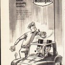 "1953 Mobilgas Ad ""extra friendly service""  2580"