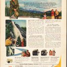 """1953 Kodak Ad """"more from your trip""""  2589"""