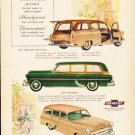 "1953 Chevrolet Ad ""last words"" ... (model year 1953)  2590"