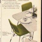 "1953 Masland Duran Ad ""from any angle""  2598"