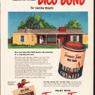 "1953 Treasure Tones Ad ""If your home is stucco""  2604"