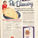"1953 Betty Crocker Ad ""Newest Pie Discovery""  2611"