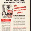 "1953 White King Soap Ad ""Win""  2616"