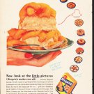 "1953 Bisquick Ad ""little pictures""  2618"